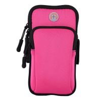 Сумка для бега Double arm package, сумка - чехол на руку Розовый