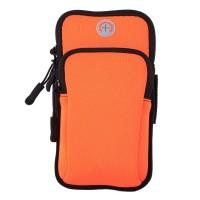 Сумка для бега Double arm package, сумка - чехол на руку Орнажевый