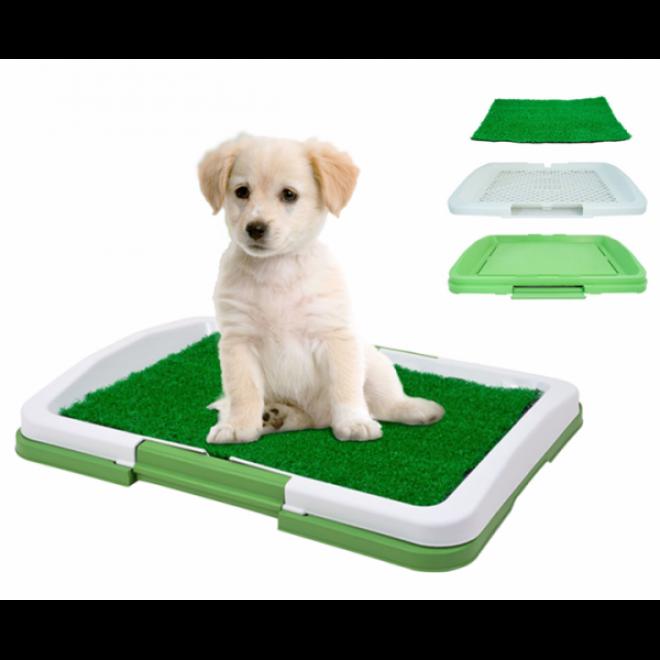 Туалет Puppy Potty Pad коврик-лоток для животных, домашний туалет для кошек собак 3 уровня