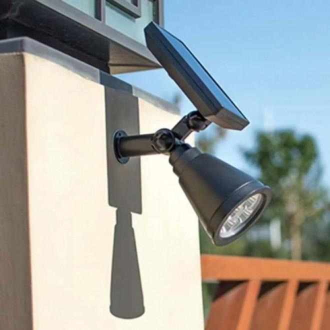 Уличный фонарь водонепроницаемый светильник на солнечной батарее LED Solarlight 2 в 1