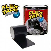 Водонепроницаемая изоляционная сверхпрочная  лента Flex Tape 100 мм х 1.5 м Черная