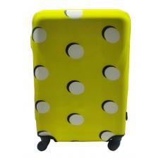 Чехол для чемодана Coverbag неопрен S пузыри желтые