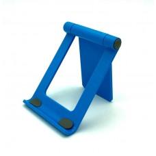 Настольная  подставка держатель  для телефона, планшета  Folding Bracket  синяя