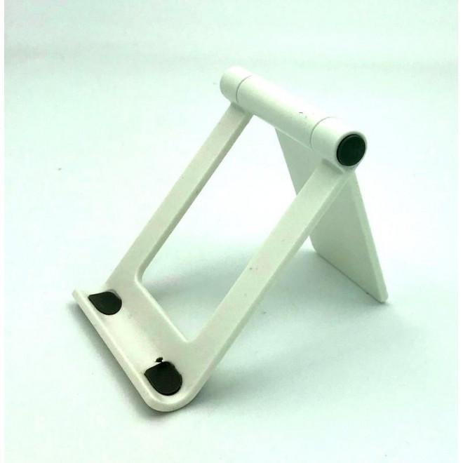 Настольная подставка держатель для телефона, планшета Folding Bracket белая