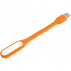Гибкая светодиодная мини Usb Led подсветка-лампа для ноутбука, повербанка оранжевый