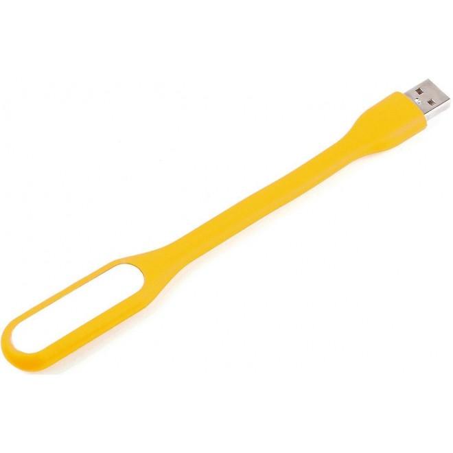 Гибкая светодиодная мини Usb Led подсветка-лампа для ноутбука, повербанка желтый
