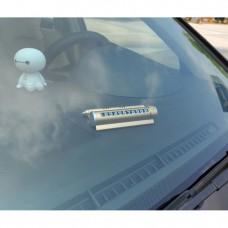 Автовизитка с номером телефона для парковки с ароматизатором и держателем телефона
