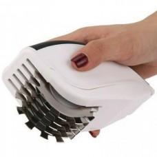 Нож для нарезки 3 в 1 Rolling Mincer и Tenderizer с чесночным прессом, овощерезка