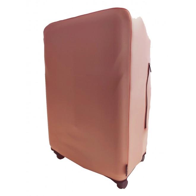 Чехол для чемодана Coverbag неопрен M персик