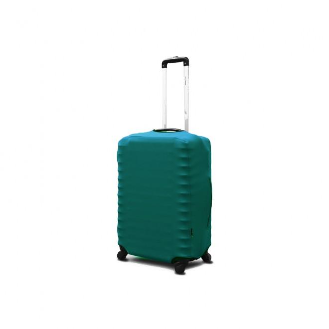 Чехол для чемодана Coverbag неопрен M бирюза