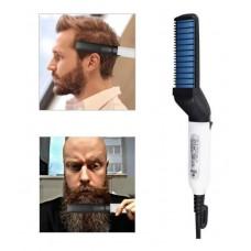 Выпрямитель для бороды и волос NG-MODELLIN | Мужская плойка для бороды и волос | Утюжок для бороды