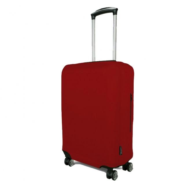 Чехол для чемодана Coverbag неопрен L т.красный