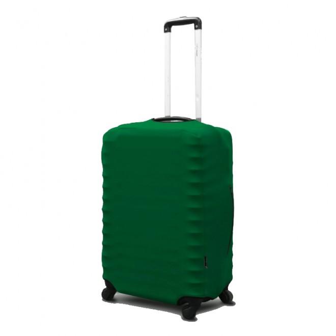Чехол для чемодана Coverbag неопрен M зеленый