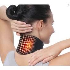 Турмалиновый магнитный бандаж-воротник с магнитными вставками  SUNROZ Self Heating Neck Guard Band