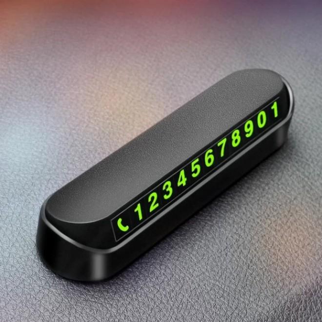 Автовизитка с номером телефона в машину для парковки Bakeey Auto Num (Парковочная карта)