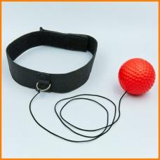 Боксерский мяч для тренировок, повязка на голову , тренажер для бокса Boxing Reflex Ball
