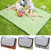 Складной водонепроницаемый коврик для пикника, пляжа 145х180 см