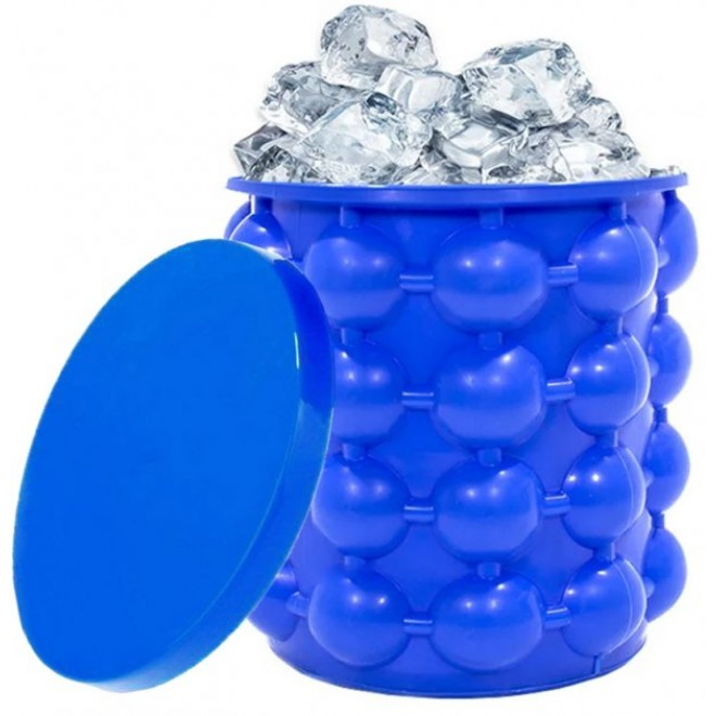Форма для льда Ice Cube Maker, силиконовое ведро для заморозки льда