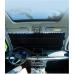 Выдвижная шторка солнцезащитная в авто 145x65см Ткань+Фольга