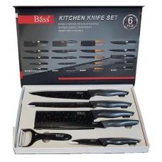 Набор ножей 6в1с керамическим покрытием  (овощечистка)  B6981