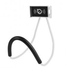 Гибкий держатель для телефона на шею Holder белый