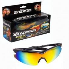 Солнцезащитные поляризованные антибликовые очки Tac Glasses с чехлом