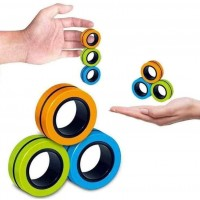 Магнитные кольца Stress Relief Magnetic Rings | Антистресс для рук