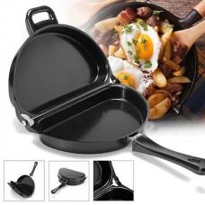 Двойная сковорода для омлета Folding Omelette Pan. Омлетница