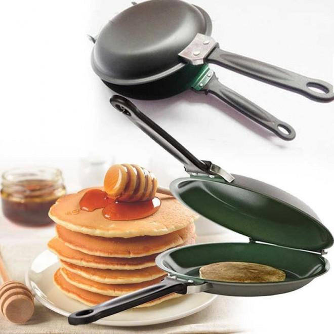 Сковорода блинница двусторонняя Pancake Maker для приготовления блинов, панкейков, оладий