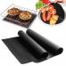 Антипригарный коврик-гриль портативный BBQ grill sheet 33Х40 см. Для гриля, барбекю, решетки