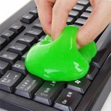Лизун очиститель, гель-слайм   для компьютерной клавиатуры Super Clean