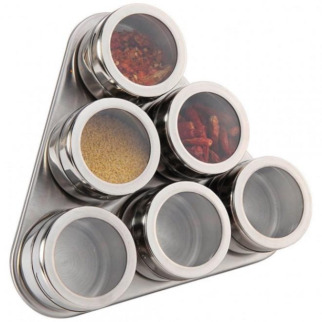 Набор для специй Spice Carousel на магнитной подставке