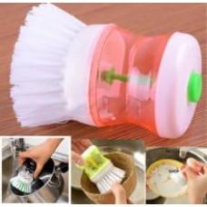Дозатор жидкого мыла со щеткой