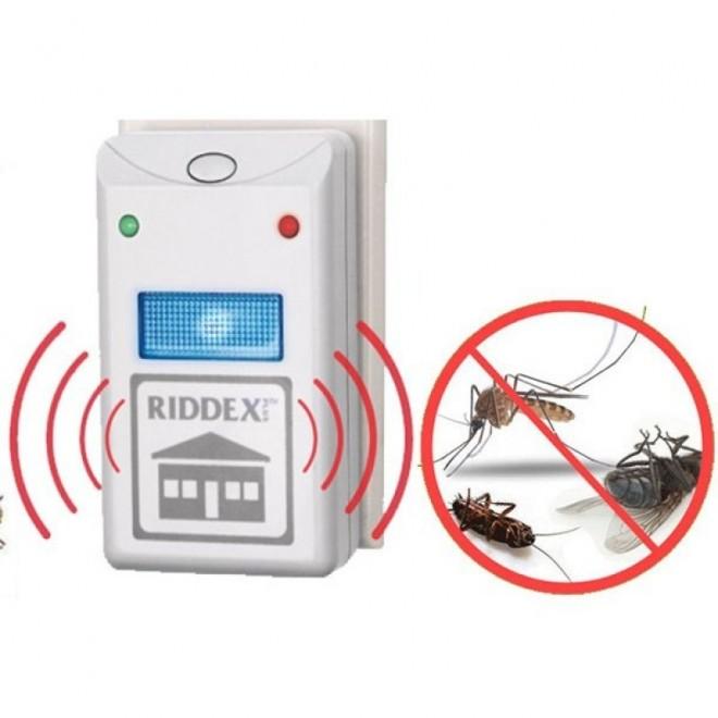 Экологически безопасный ультразвуковой отпугиватель насекомых и грызунов RIDDEX Pest Repelling