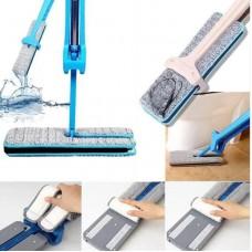 Швабра лентяйка для быстрой уборки с отжимом Switch N Clean 360°  с микрофиброй, швабра с отжимом