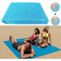 Пляжная подстилка, пляжный коврик антипесок, пляжний килимок sand mat | 150х200 см