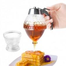 Диспенсер-емкость, дозатор для меда и соусов Honey Dispenser