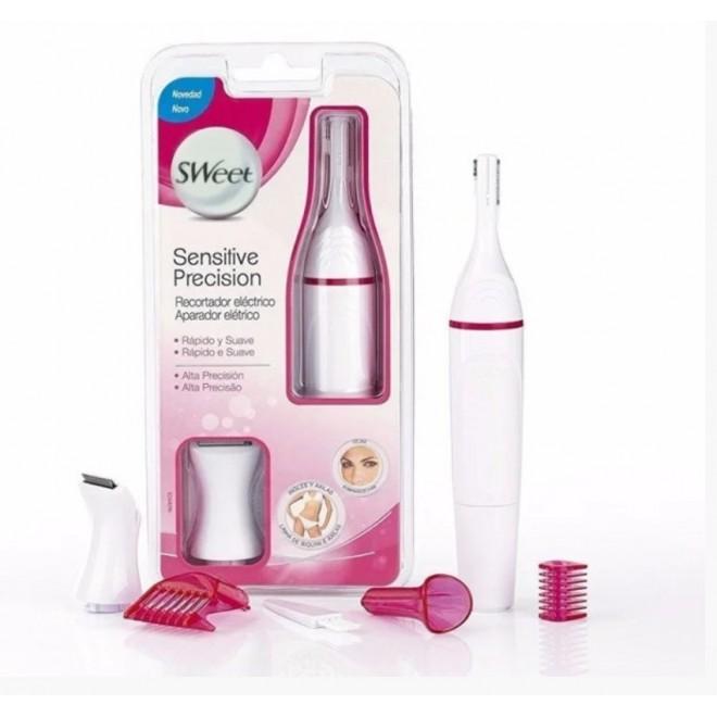 Женский триммер Sweet Sensitive Precision 4в1 Белый с Розовым