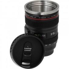 Чашка объектив Canon, Термо кружка в виде объектива