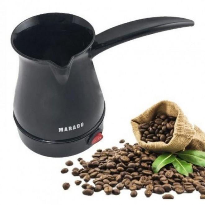 Электрическая кофеварка-турка Marado черная