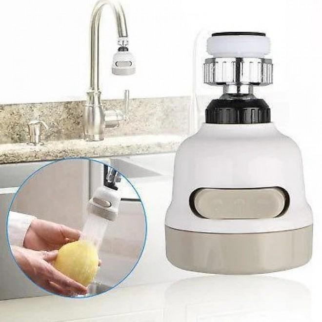Экономитель воды Water Saver NEW 360 градусов, насадка на кран (аэратор), водосберегающая насадка