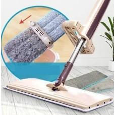 Швабра лентяйка для быстрой уборки с отжимом Spin Mop 360 с микрофиброй, швабра с отжимом