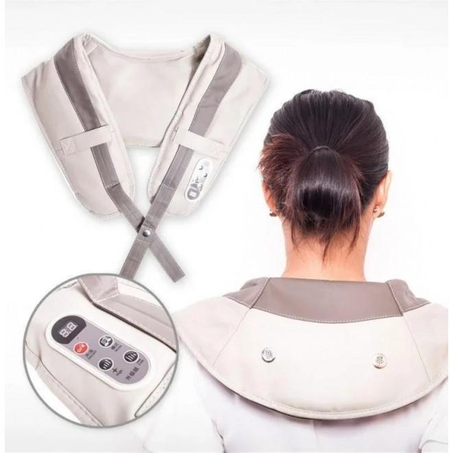Ударный массажер для шеи и плеч Cervical Massage Shawls