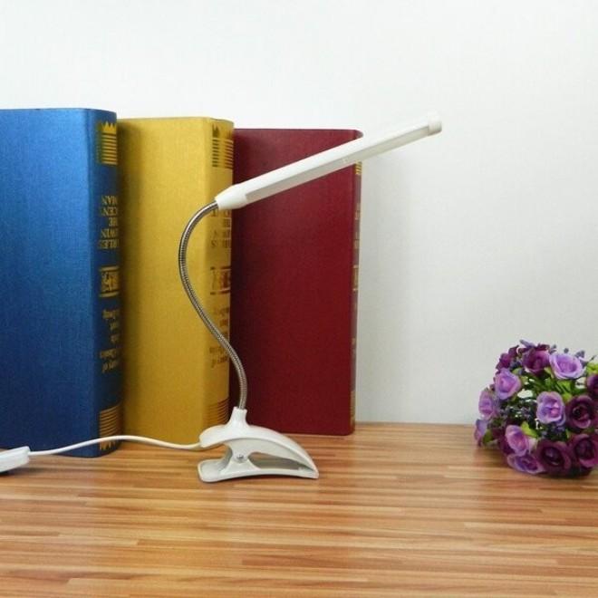 Настольный светодиодный светильник на прищепке (клипсе) TUBE LIGUT USB LED