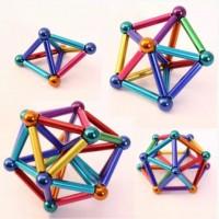 Магнитный конструктор Neocube NEO 63 деталей разноцветный развивающая игрушка Неокуб