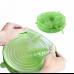 Набор силиконовых крышек Super Stretch Silicon Lids крышки из 6ти штук зеленый