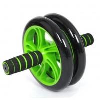 Фитнес колесо для пресса Double wheel Abs health abdomen round, ролик колесо для пресса