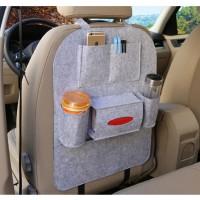 Органайзер для спинки сиденья автомобиля  Vehicle mounted storage bag светло-серый