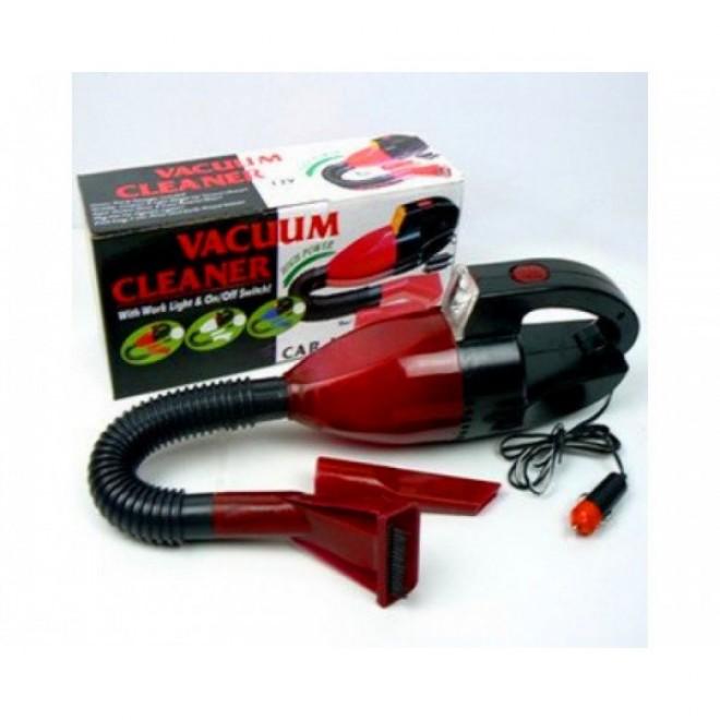 Универсальный компактный пылесос с фонарем для машины CAR VACUM CLEANER