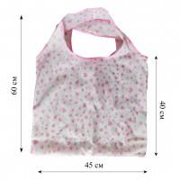 Компактная сумка шоппер из плащевой ткани принт 0503